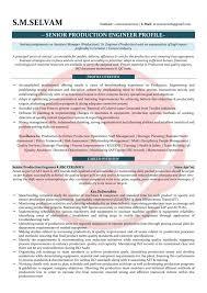 Ceramic Engineer Sample Resume Classy Sample Resume For Mechanical Quality Assurance Engineer Fresh Resume