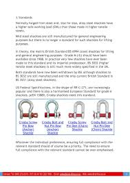 Guide To Lifting Shackles Simplebooklet Com