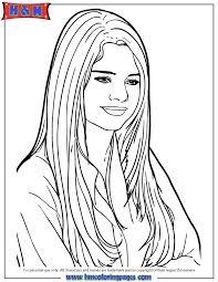 Self Portrait Coloring Page Courtoisiengcom