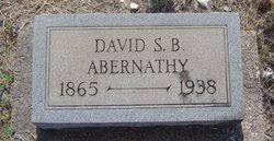David Shamariah Benjamin Abernathy (1865-1938) - Find A Grave Memorial