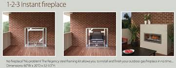 regency hzo42 linear contemporary outdoor vent free gas fireplace by obadiah s woodstoves