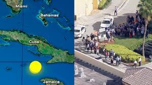 Latest earthquakes in the world. South Florida Feels Massive 7 7 Magnitude Earthquake Centered Near Cuba