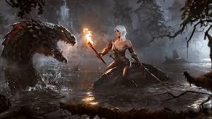 1920x1080 wallpaper darkness the witcher video games geralt of rivia water