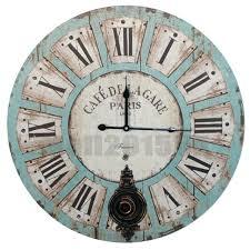 shabby chic wall clock extra large shabby chic wall clock antique vintage style shabby chic wall shabby chic