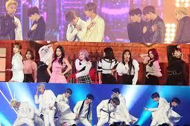Genie Music Chart Performances From 2018 Mbc Plus X Genie Music Awards Soompi
