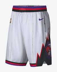 Nba Swingman Shorts Size Chart Toronto Raptors Classic Edition Swingman Mens Nike Nba Shorts