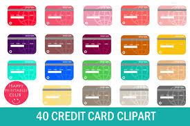 Debit Clipart-shopping Credit Card Clipart- 40