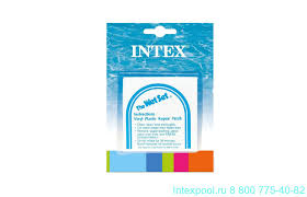 <b>Ремкомплект</b> для ПВХ 5 блистеров <b>Intex 59631</b> купить в ...