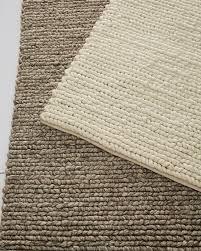 braided wool rug swatch