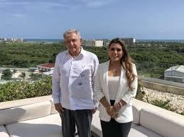 AMLO meets with Evelyn Salgado Pineda, governor-elect of Guerrero ...