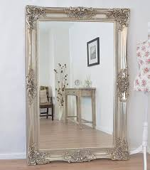 Silver Mirrors For Bedroom Antique Design Ornate Wall Mirror Will Make A Beautiful Addition