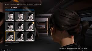 New Hairstyles In The Beta Elitedangerous