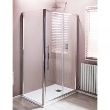 cali ocho sliding door shower enclosure 1000mm x 700mm 8mm glass