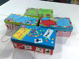 Decorated Shoe Boxes