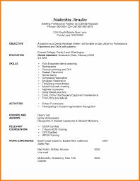 Sample Resume Dental Assistant Skills Checklist Fresh 16 Dental
