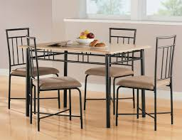 metal dining room furniture. dining room unique furniture sets with black steel table 4 chairs above laminate metal g