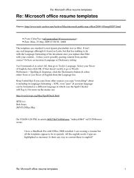 Microsoft Office Curriculum 041 Template Ideas Microsoft Office Word Resume Templates Cv