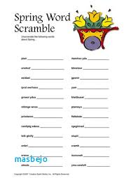 Unscramble Resume Unscramble The Letters To Make The Words That Have Amazing Resume Unscramble