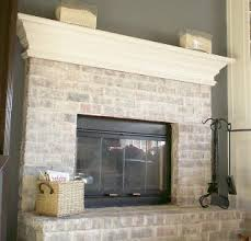 painted white brick fireplaceBest 25 Painting brick fireplaces ideas on Pinterest  Painted