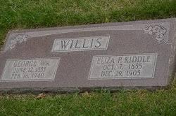 Eliza Priscilla Kiddle Willis (1855-1905) - Find A Grave Memorial