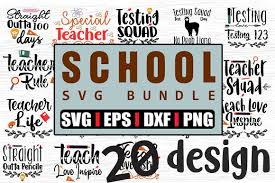 Free quotes svg files for personal use. 20 School Quotes Svg Bundle Graphic By Svg In Design Creative Fabrica