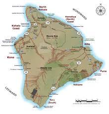 big island of hawaii maps