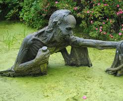 bizarre statues created from your