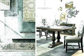 rug under round dining table room size carpet un