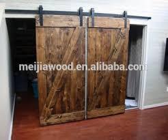 american style z brace barn soor slab teak wood main door designs