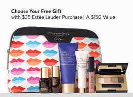 nordstrom is running a fantastic promotion on estee lauder s right now any paring item s 35 or more get a 7 piece deluxe estee lauder