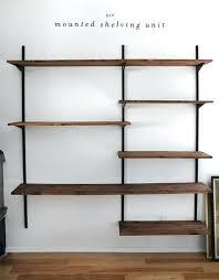 wall mounted shelves corner shelf wire shelving home depot revit