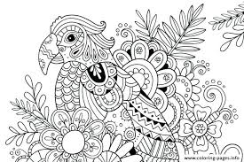 Flower Color Pages Beach Coloring Pages Printable Adult Summer