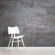 burnished silver mural wallpaper