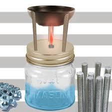 mason jar scented oil burner