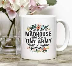 Amazon Mom Of Boys Mug Coffee Mugs For Moms Mum Gift Mums Simple Mom Of Boys Quotes