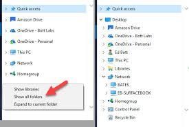 Windows 10 Explorer Windows 10 Tip Make The File Explorer Navigation Pane Work Like