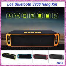 loa di động, Loa máy tính bluetooth, Loa Bluetooth S208 Hàng Xịn, Được  trang bị 3 loa với 1 loa trầm Siêu Bass. Kiểu dáng thời trang, nghe nhạc  hay -Hang tot