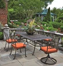 hanamint outdoor furniture by luxury cast aluminum patio 6 reviews