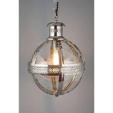 medium nickel finish globe chandelier for brilliant residence nickel orb chandelier remodel