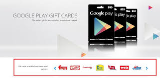 in usa the google play gift card was made available in the year 2016 google is