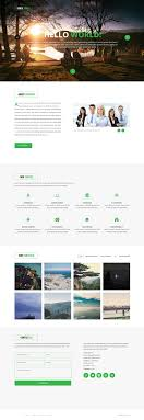 Company Portfolio Template Free Corporate And Business Web Templates PSD 22