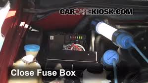 replace a fuse 2005 2012 nissan pathfinder 2010 nissan 6 replace cover secure the cover and test component
