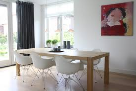 office in dining room. Image By: Holly Marder Office In Dining Room