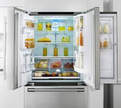 french door refrigerator in kitchen. Door-in-Door On 36\ French Door Refrigerator In Kitchen