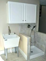 Utility Sink Backsplash Amazing Garage Utility Sink Install Utility Sink Utility Sinks For Laundry