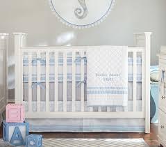 bright blue crib sheets
