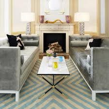 vintage marble coffee table with cool rug and
