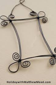 Crafty ideas to use wire for home decor projects wire picture frame