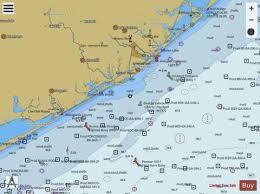 San Luis Pass To East Matagorda Bay Marine Chart