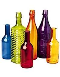 Decorative Colored Glass Bottles Amazon Bottle Bush Metal Frame Garden Decor Garden Outdoor 25